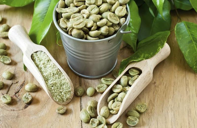 groene koffie afvallen