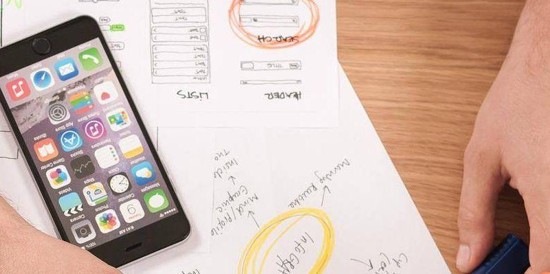 Iphone op tafel
